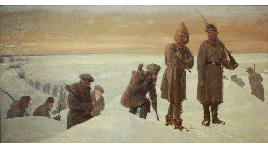 W drodze na katorgę – Aleksander Sochaczewski